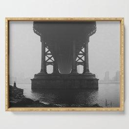 The Manhattan Bridge Serving Tray