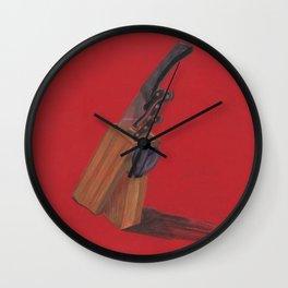 knife Wall Clock