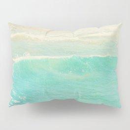 beach ocean wave. Surge. Hermosa Beach photograph Pillow Sham