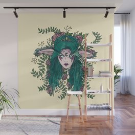 Elf Queen Wall Mural
