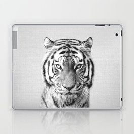 Tiger - Black & White Laptop & iPad Skin