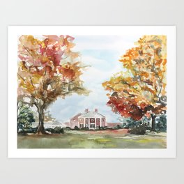 Farmington Art Print