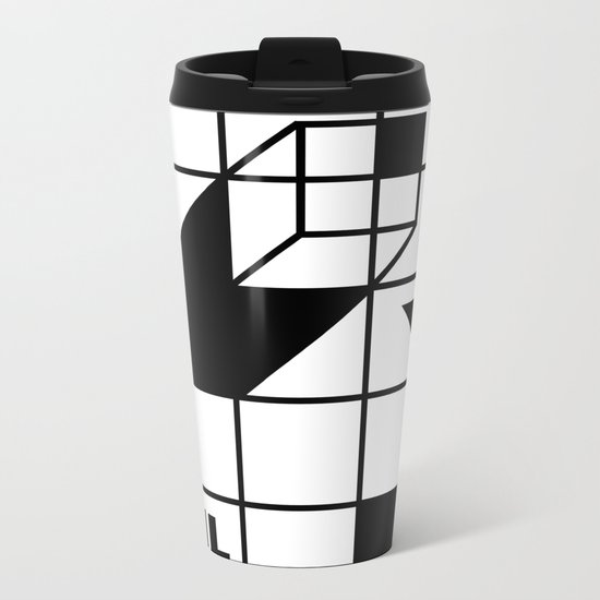 Four Walled World Metal Travel Mug