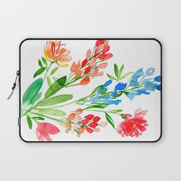 Fleurs de contraste Laptop Sleeve