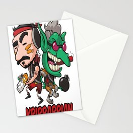 Bombarrian Tee Stationery Cards