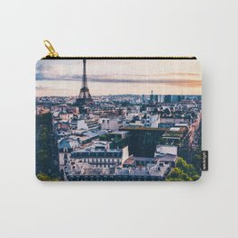 Sunset in Paris (Color) Carry-All Pouch