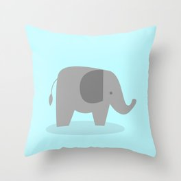 Cute elephant Throw Pillow