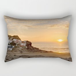 Sunset on the Costa Vicentina, Portugal Rectangular Pillow