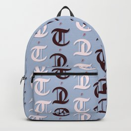 cross the t's and dot the i's Backpack