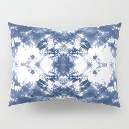 Shibori Tie Dye 4 Indigo Blue Pillow Sham