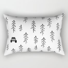 Among the Trees Rectangular Pillow
