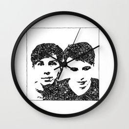 Danisnotonfire & AmazingPhil Wall Clock