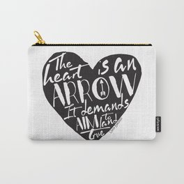 Heart is an Arrow - Six of Crows design Carry-All Pouch