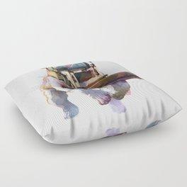 Dozer Bulldozer Floor Pillow