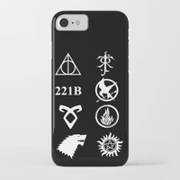 fandom iPhone & iPod Cases featuring Welcome To My Fandom by Lunil