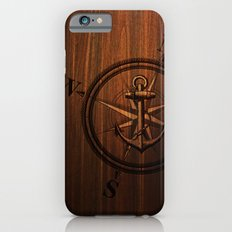 Wooden Anchor Slim Case iPhone 6