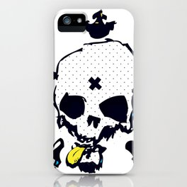 XXX Skull C iPhone Case
