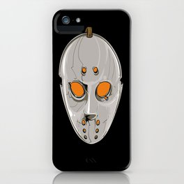 Hockey Goalie Mask iPhone Case