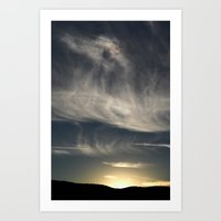 Shadow in the Sky Art Print