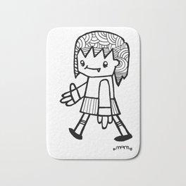Girl Walking Bath Mat