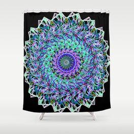 Mandala 24 Shower Curtain