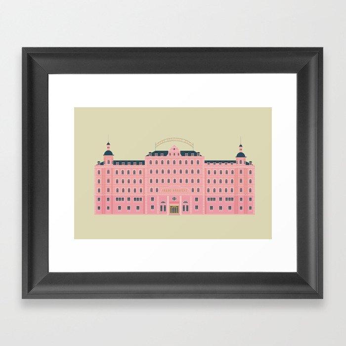 Budapest Hotel Gerahmter Kunstdruck