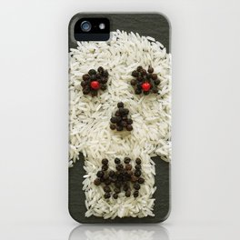 Food Pirate Head iPhone Case