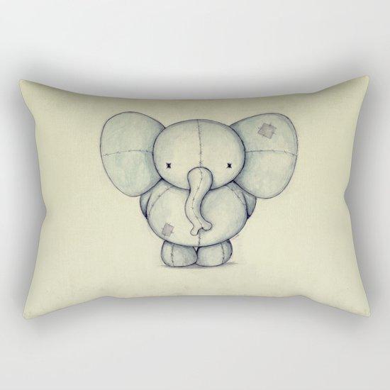 Cute Elephant Rectangular Pillow