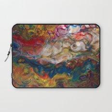 Multicolor Clouds Lava Flow Laptop Sleeve