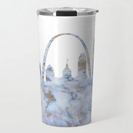 Saint Louis Missouri Skyline Travel Mug