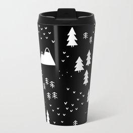 Woods in Black Metal Travel Mug