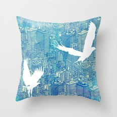 Ecotone (day) Throw Pillow