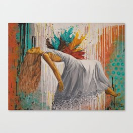 Vulnerable In Love Canvas Print