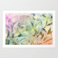 plant Art Prints featuring Plant by nadja-elli