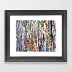 STRIPES 32 Framed Art Print