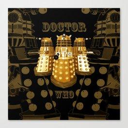 Doctor Who Said Ex Canvas Print