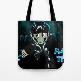 Mario Tron Tote Bag
