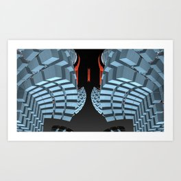 The Over-site Art Print