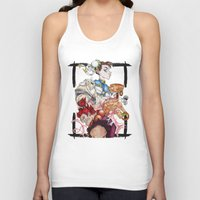 street fighter Tank Tops featuring Street Fighter by Mazuki Arts