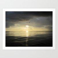 Ocean View 7 Art Print