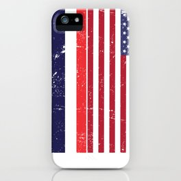 USA And Thailand Flags iPhone Case