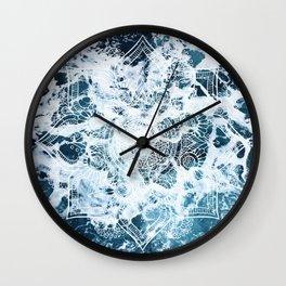 Ocean Mandala - My Wild Heart Wall Clock
