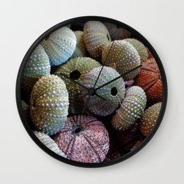 Colors of the Sea Wall Clock