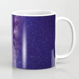 Space milky way - purple sky Coffee Mug