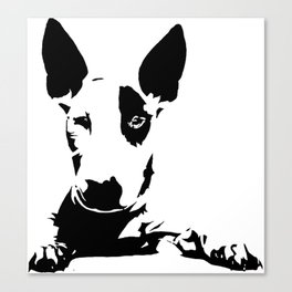 BULL TERRIER GIFTS Canvas Print
