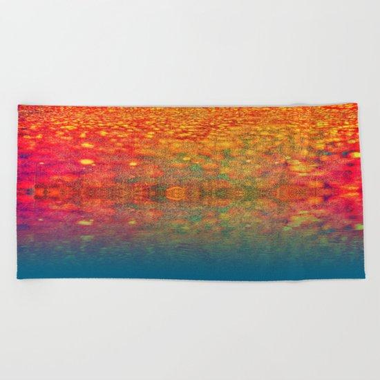 lake-312 Beach Towel