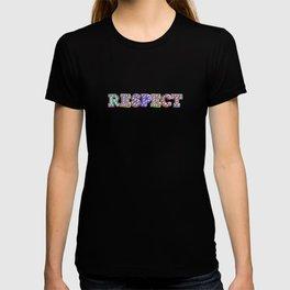 R – E – S – P – E – C – T – Pop Bulb T-shirt