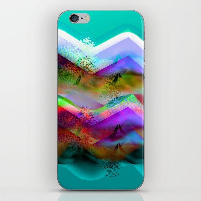 Ocean-Race  no21 iPhone Skin