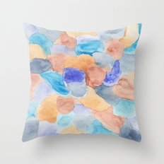 Seaglass Mosaic Throw Pillow