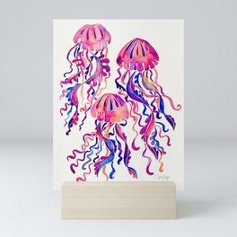 Jellyfish – Magenta Palette Mini Art Print